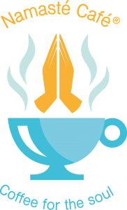 Namasté Café - Coffee for the soul Logo (Drukwerk)